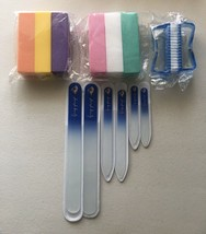 14 Pieces Glass Nail File and Buffers - $9.99