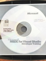 Microsoft MSDE For Visual Studio Developer Training - $27.16