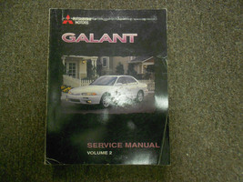 1998 MITSUBISHI Galant Service Shop Repair Manual FACTORY OEM VOL 2 BOOK 98 - $15.83