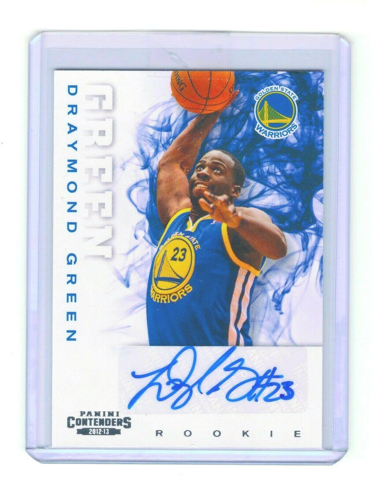 Primary image for 2012-13 Panini Contenders ROOKIE AUTO DRAYMOND GREEN Warriors RC
