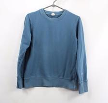 Champion Japon Exclusif Hommes Petit Vierge Crewneck Sweatshirt Bleu - $38.64