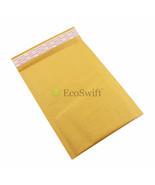 50 kraft Blasen Papier Gepolsteter Umschlag 17.8cm X 25.4cm Braun Self V... - $29.65