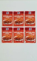 Lot of 6 McCormick ENCHILADA Sauce 1.5 oz Packets Spices BB 3/2022 FRESH... - $27.71