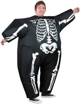 Skeleton Costume Inflatable Blimpz Adult Men Women Halloween Unique SS64... - $59.99