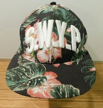 H&M Unisex Cap Hat S.W.Y.P. Divided Floral Print Snap back Hat Cap one size - $9.89