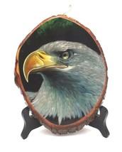 """Vintage AMERICAN BALD EAGLE Wood Wall Hanging Plaque """"Harley Davidson"""" D... - $43.19"""