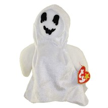 Sheets the Ghost in Ghost Costume Ty Beanie Baby MWMT Halloween Retired - $7.87