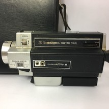 Vintage BELL & HOWELL Movie Camera Autoload w/ Case Filmosound B Untested - $34.99