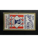 1939 The Sporting News Record Book Baseball Centennial Abner Doubleday C... - $59.39