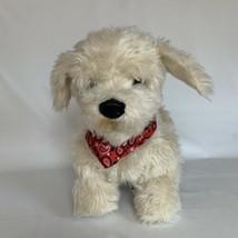Georgie Interactive Plush Electronic Puppy Dog w Bandana Rechargeable - $65.00