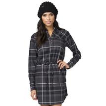 Element Eden Women's Fifth Ave Plaid Flannel Dress Black ~ Store Closing Sale! - $24.68