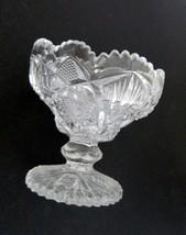 Imperial Glass NUCUT Line #212 Diamond w Fan and/or Star & Fan Pattern C... - $16.82