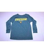 Youth Oregon Ducks S (8) L/S Athletic Shirt (Green) Adidas - $12.19