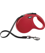 Flexi North America Red Classic Large Tape Retractable Leash Large 110lbs - $58.19