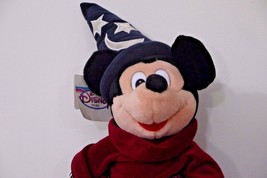 "Disney Mickey Mouse Sorcerers Apprentice 18"" Plush Doll - $9.99"