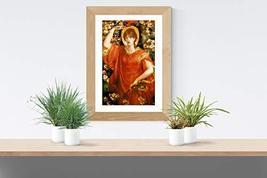 """A Vision of Fiammetta - Dante Gabriel Rossetti- Art Print - 13"""" x 19"""" - Custom S - $25.00"""