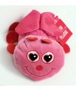 My Little Bug Lovebug Plush Pink 6 inch Heart Hanger Bug Child Valentine NWT - $13.87
