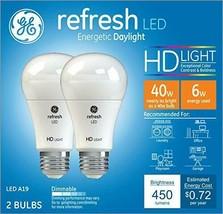 Refresh Light Bulb LED 40W Long Life Dimming 2pk LED A19 - $8.50
