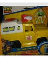 Disney Imaginext Toy Story Buzz Lightyear Figure & Pizza Planet Truck Playset - $27.71
