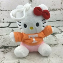 "Hello Kitty Sanrio Mini 4.5"" Plush Backpack Clip T-Shirt Soft Toy By Plu... - $14.84"