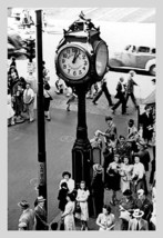 Reading Terminal Clock, Philadelphia, Pa By Free Library Of Philadelphia - Art P - $19.99+