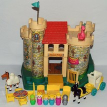 Vintage Fisher Price Little People #993 Play Family Castle Set Complete 0731!!! - $198.00