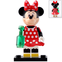 New Minnie Mouse (Polka dots) Disney Mickey Mouse & Friends Lego Minifig... - $2.99