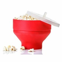 New Popcorn Bucket Bowl Maker With Lid - $19.99
