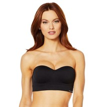 Nearly Nude Seamless Bra with Optional Straps in Black, XL (654386) No Tag - $19.79