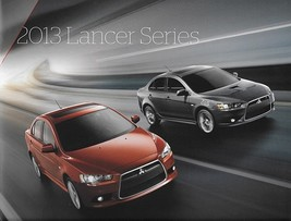 2013 Mitsubishi LANCER brochure catalog GT RALLIART EVOLUTION X 13 GSR MR - $12.00