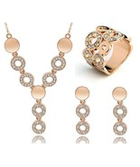 Rhinestone Romance 3 Piece Jewelry Set - $29.95