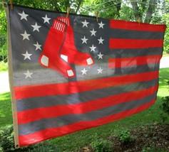 WinCraft 2015 MLBP Red Sox Flag Large Boston Massachusetts Stars & Strip... - $19.34