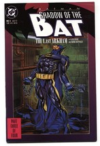 Batman: Shadow Of The Bat #3-comic Book 1st Appearance Amygdala - $18.62