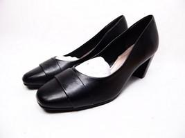 Soft Style Mabry Square Toe Pumps, Women's Black Size 6.5M - $43.53