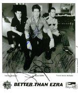 BETTER THAN EZRA GROUP SIGNED AUTOGRAPH AUTOGRAM 8X10 RPT PROMO PHOTO ALL 3 - $17.99