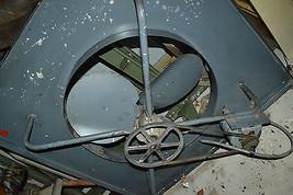 Vtg HAMILTON  Industrial Steampunk Factory belt drive ceiling fan Barn 5... - $554.29