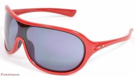 Oakley Women's Sunglasses Immerse OO9131-04 Red Mask Gray Lens - $111.55