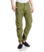 G Star Raw Powel Field 3D Tapered Cargo Pants in Sage, Size W33/ L30 BNW... - $129.75
