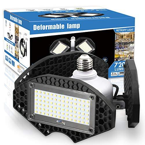 LED Garage Lights, Deformable LED Garage Ceiling Lights