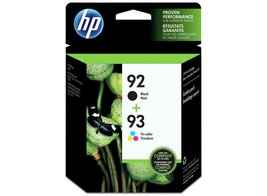 HP 92 | 2 Ink Cartridges | Black, Tri-color | C9361WN, C9362WN( EXP 4/2020) - $39.99