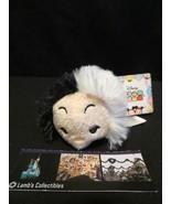 Disney Store Authentic USA 101 Dalmatians Cruella Tsum Tsum mini plush 3... - $14.24