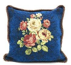 """Fennco Styles Elegant Vintage Floral Woven Decorative Throw Pillow (18"""" ... - $41.57"""