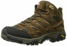 Men's Merrell Moab 2 Mid WaterProof Hiking Boot Earth J06051 size 11 NEW... - $119.00