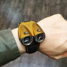 Limited Edition Only 88 Pcs Azimuth TWIN TURBO Automatic watch Yellow SW... - $4,588.00