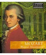 Wolfgang Amadeus Mozart: Mozart Musical Masterpieces / International Mas... - $14.35