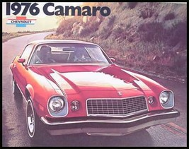 1976 Chevy Camaro Dealer Sales Brochure, Orig GM MINT! - $4.27