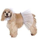 "FASHION PET SMALL 10-12"" DOG COSTUME BALLERINA BRIDE TUTU SKIRT & NECK S... - $2.50"