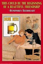 Humphey Beerhart - This could be the beginning of a beautiful friendship by Wilb - $19.99+
