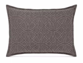 1 HOTEL COLLECTION CONNECTION INDIGO BLUE KING PILLOW SHAM - $44.99