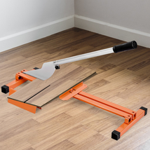 "Laminate Floor Cutter Hand Tool V-Support 8"" & 12"" Wide Vinyl Wood Planks - $65.03"